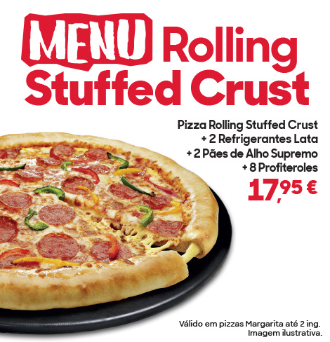 MEnu Rolling Stuffed Crust