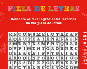 Pizza de Letras
